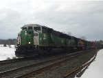 BN/KCS on Mixed Freight